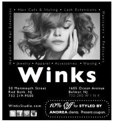 Andrea Caprio for Winks Salon